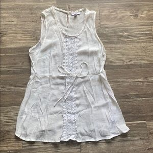 ⭐️3/$13⭐️ White Maternity Tunic